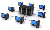 ネットワークの集合体